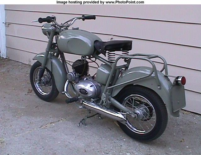 ISO motorcycle